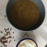 Spicy Lentil and Carrot Soup